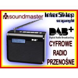 NOWOCZESNE PRZENOŚNE RADIO CYFROWE DAB+ FM