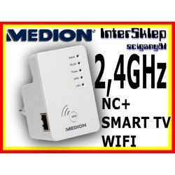 WZMACNIACZ 2,4GHZ WIFI REPEATER AP CLIENT NC+SMART
