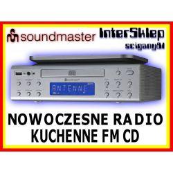 NOWOCZESNE PODWIESZANE RADIO KUCHENNE FM Z CD USB