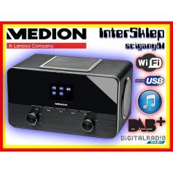 NOWOCZESNE RADIO INTERNETOWE WIFI DAB+ USB AUX IN