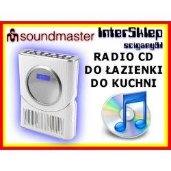 NOWOCZESNE RADIO ŁAZIENKOWE RADIO KUCHENNE CD FM