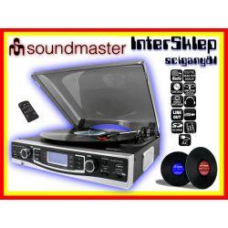 *GRAMOFON ZGRAJ PŁYTY WINYLOWE  NA MP3 SD USB