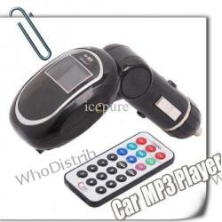 MP3 Player with Screen Car MP3 Player wireless FM stereo audio transmission