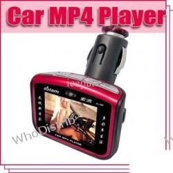 MP4 Player Solam 1.8 '' TFT Color Screen Car MP4 Player Black Red