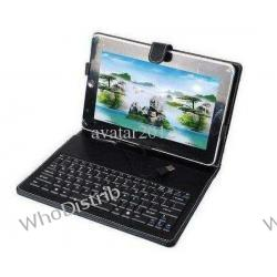 Leather case mini Keyboard for 10 inch flytouch 3 Tablet PC USB keyboard bracket