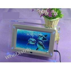 Digital Photo Frame Picture Slideshow MP3 MP4 Players 7'' Digital Photo Frame with LED Light