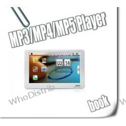 MP3 Players MP4 MP5 Muilt-media 4GB Video Player 4.3'' Touch Screen Games Camera E-book BX-88