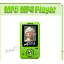 MP3 MP4 player 1.8'' LCD Screen 8GB 16GB Mobile Phone Green Shape MP4 Player W5802