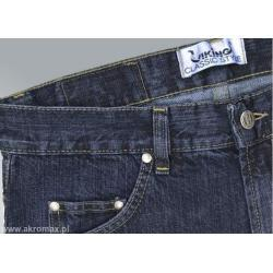 Spodnie viking jeans granat rozmiar 134 (pas) /188 (wzrost)
