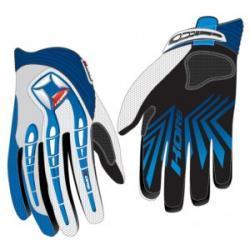 Rękawice cross niebieskie