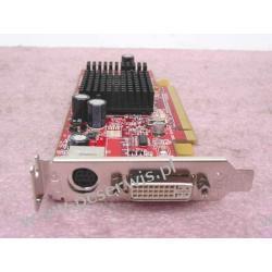 Karta graficzna Radeon X600Se PCI-EXpress low-profile