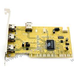 Karta FireWire IEEE1394 3+1porty OEM  SKLEP Wa-wa Obraz i grafika