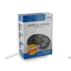 Mysz optyczna - USB | przewodowa | czarna Urządzenia wskazujące