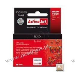ActiveJet ACC-521Bk (ACC-521BN) tusz czarny do drukarki Canon (zam. CLI-521Bk) (CHIP) Klasy Core i3