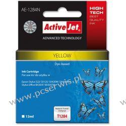ActiveJet AE-1284N (AE-1284) tusz Yellow pasuje do drukarki Epson (zamiennik T1284)  22 cale