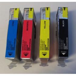 Komplet 4 tuszy BCI-6  Canon zamienniki/W-wa Canon - kolor