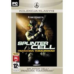 SPLINTER CELL PANDORA TOMORROW___NOWA/FOLIA Komputerowe PC