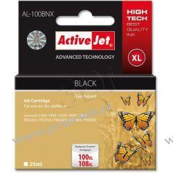 ActiveJet AL-100BNX tusz czarny do drukarki Lexmark (zamiennik Lexmark 100/108) Supreme  Lexmark - czarny
