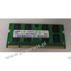 SAMSUNG SODIMM 2GB DDR2 800Mhz PC6400s Podzespoły bazowe