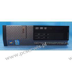 Komputer Dell 990 i5-2400/4GB/ Windows 7 Pro Komputery stacjonarne