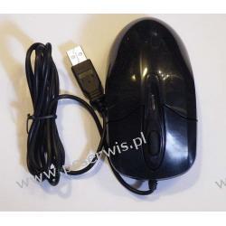 Mysz optyczna  czarna na USB   Komputery