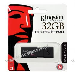 Pendrive Kingston DT100 G3 USB 3.0 32 GB Komputery