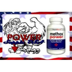 METHOX POWER Z USA METHOXY HG. CHRYSIN 90 kaps