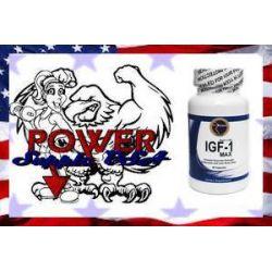 1x IGF-1 MAX silny hormon wzrostu przyrost masy