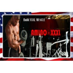 3x AMINO XXXL najnowszy z USA SILNY SKŁAD 2500 MG