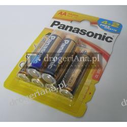 BATERIE PANASONIC LR6 4+2GRATIS ALKALICZNE