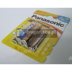 BATERIE PANASONIC LR03 4+2GRATIS ALKALICZNE