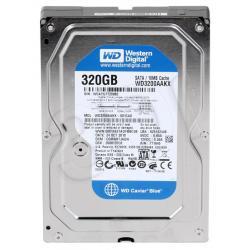 HDD WD CAVIAR 320GB WD3200AAKX SATA III 16MB CACHE...