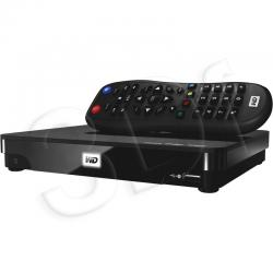 WD TV LIVE HUB PLAYER, Gigabit Ethernet, 2xUSB, Full-HD, HDMI, WDBACA0010BBK...