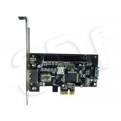 KONTROLER PCI-E eSATA II + SATA II + ATA133...
