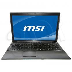 MSI CR650-018PL E350 4GB 15,6 500 DVD ATI6310 W7H...