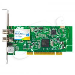 Tuner TV ASUS My Cinema-P7131H Hybrid (TV cyfrowa naziemna DVB-T, TV analog, Radio FM. pilot) (karta PCI)...