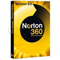 SYMANTEC NORTON 360 5.0 IN 1 USER 3 PC MM...
