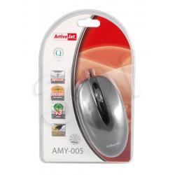 ActiveJet Mysz optyczna AMY-005 USB-POZŁACANE STYKI...