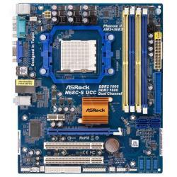ASROCK N68C-S UCC NVIDIA® GeForce 7025 / nForce 630a Socket AM2+ (PCX/VGA/DZW/LAN/SATA/RAID/DDR2/DDR3) mATX...