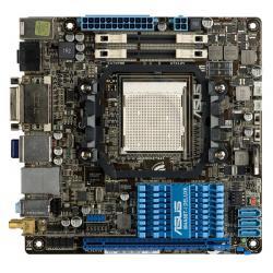 ASUS M4A88T-I DELUXE AMD 880G Socket AM3 (PCX/VGA/DZW/GLAN/SATA/USB3/RAID/DDR3-SODIMM/Crosfire/WiFi/Bluetooth) MiniITX...