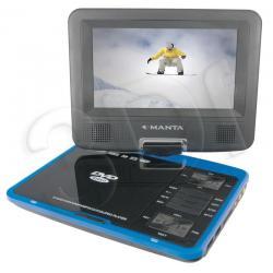 Odtwarzacz DVD MANTA przenośny DVD053G ( dodatkowo: zestaw 300 gier + pad )...