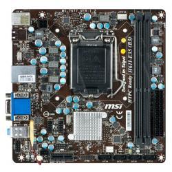 MSI H61I-E35 (B3) Intel H61 LGA 1155 (VGA/DZW/GLAN/SATA/DDR3) Mini-ITX...