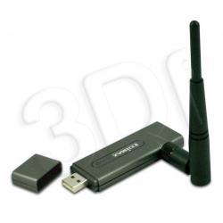 EDIMAX (EW-7318USg)  KARTA SIECIOWA WIRELESS USB 802.11G + Odkręcana antena RPSMA o zysku 4dBi, moc wyjściowa 17dBm+/-2dBm....