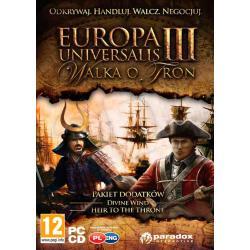 Gra PC Europa Universalis III: Walka o Tron (dodatki)...
