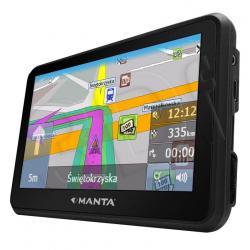 "NAWIGACJA 4,3"" MANTA GPS450 Mapa Europa..."