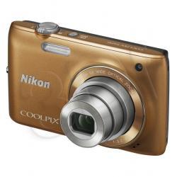APARAT NIKON COOLPIX S4150 BRĄZOWY + KARTA SD 8GB...