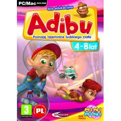 Gra PC Adibu Tajemnice ludzkiego ciała 2011...