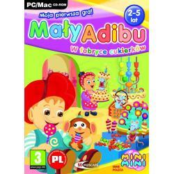 Gra PC Mały Adibu W fabryce cukierków 2011...