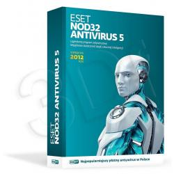 ESET NOD32 ANTIVIRUS 5.0 BOX - 1 STAN/12M...