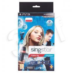 Gra PS3 Singstar Polskie Hity + Mikrofony Bezprzewo...